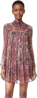 The Jetset Diaries Labyrinth Paisley Mini Dress $199 thestylecure.com