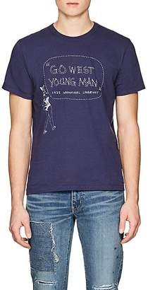 "Visvim Men's ""Go West Young Man"" Cotton T-Shirt"