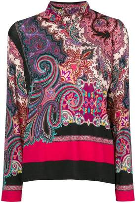 Etro bohemian knit sweater