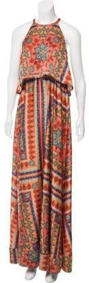 Torn By Ronny Kobo Sleeveless Maxi Dress