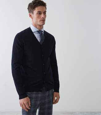 Reiss Hampstead Merino Wool Cardigan