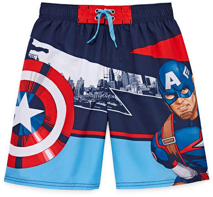 LICENSED PROPERTIES Boys Avengers Trunks-Preschool