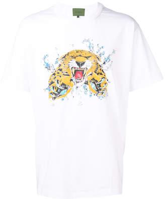 Amen tiger print T-shirt