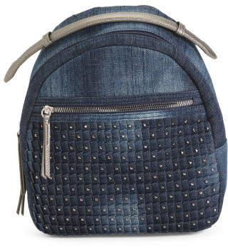 Anastasia Denim Backpack