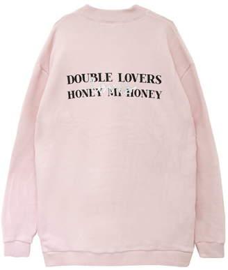 Honey mi Honey (ハニー ミー ハニー) - Honey mi Honey doublelovers×HONEYスウエット ハニーミーハニー カットソー