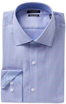Tailorbyrd Trim Fit Houndstooth Dress Shirt