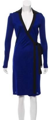 Diane von Furstenberg Sash Tie Wrap Dress Sash Tie Wrap Dress