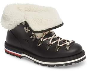 Moncler Inaya Scarpa Genuine Shearling Boot