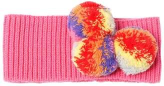 Il Gufo Pompoms Wool Knit Headband