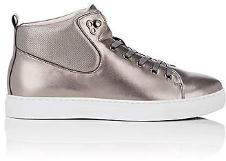 Badgley Mischka Badgley & Mischka BADGLEY & MISCHKA MEN'S SANDERS LEATHER SNEAKERS