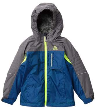 Gerry Glen Transitional Jacket with Faux Fur Hood Lining (Little Boys)