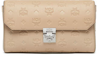 MCM Millie Flap Crossbody In Monogrammed Leather
