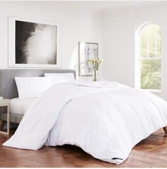 J Queen New York Regency Sateen 300 Thread Count Cotton Allergen Barrier Down Alternative Comforter - King