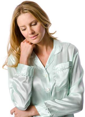 PJ Pan Silk Pyjamas In Pistachio