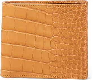 Ralph Lauren Burnished Alligator Wallet