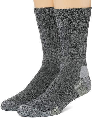 Dr. Scholl's Dr. Scholls Advanced Relief 2 Pair Crew Socks-Mens