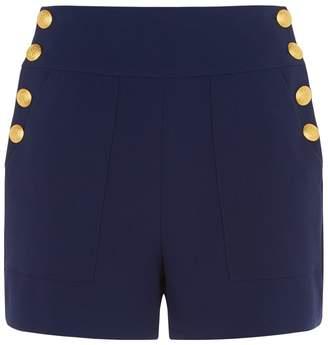 Alice + Olivia Donald Button Shorts