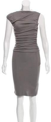 Giambattista Valli Wool Draped Sleeveless Dress w/ Tags