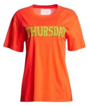 Alberta Ferretti Days Of The Week Thursday T-Shirt