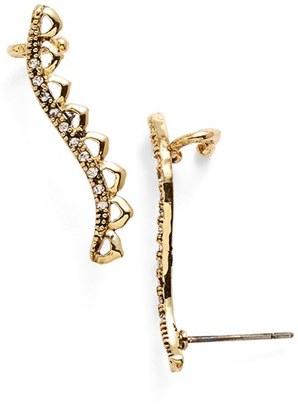 Women's Ettika Crystal Ear Crawlers $45 thestylecure.com