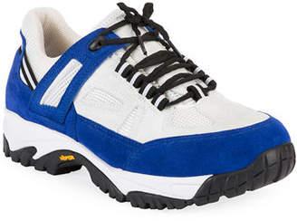 Maison Margiela Men's Security Two-Tone Sneakers