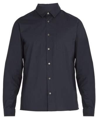 A.P.C. Chemise 92 Cotton Shirt - Mens - Navy