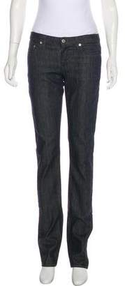 Helmut Lang Low-Rise Straight-Leg Jeans