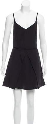 Theyskens' Theory Linen Mini Dress