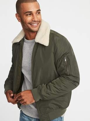 Old Navy Water-Resistant Aviator Jacket for Men