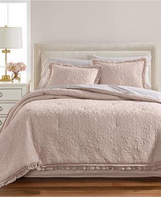 Martha Stewart Collection Crochet & Ruffle 8-Pc. California King Comforter Set