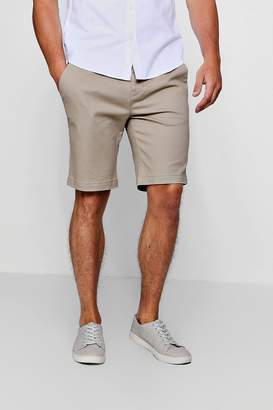 boohoo Stretch Skinny Fit Chino Shorts