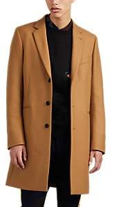 Paul Smith Men's Wool-Blend Overcoat - Beige, Tan