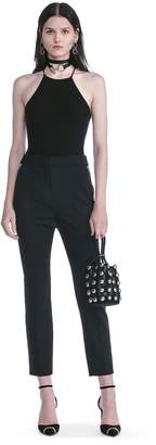 Alexander Wang High Waisted Tailored Pants With Zip Pockets