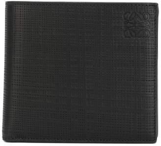 Loewe logo embossed bi-fold wallet