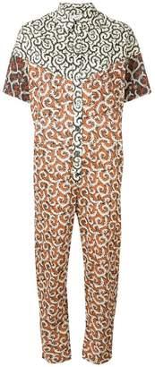 Etoile Isabel Marant all-over print jumpsuit