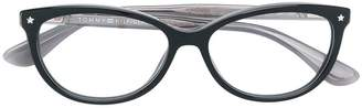 Tommy Hilfiger cat eye-frame glasses