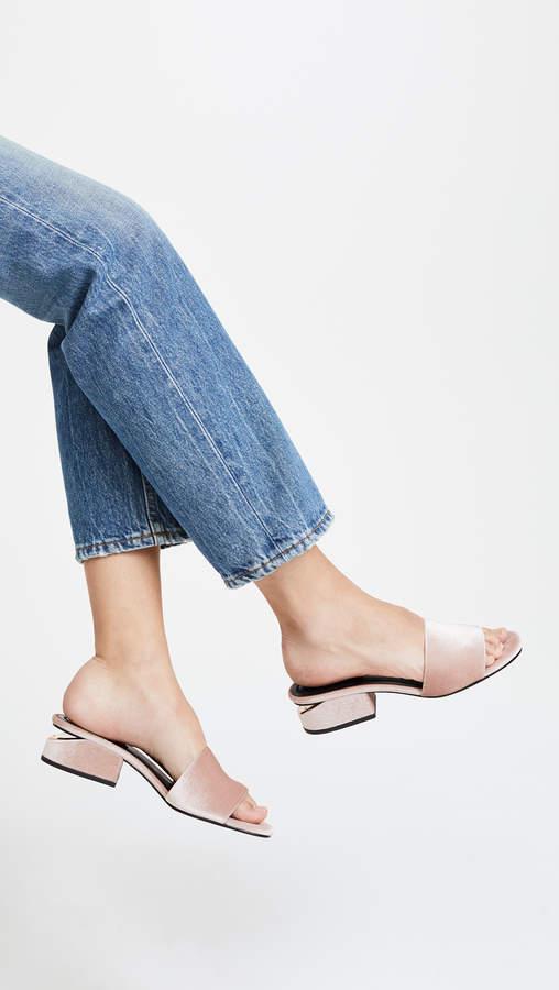 Alexander Wang Lou Low Heel Sandals