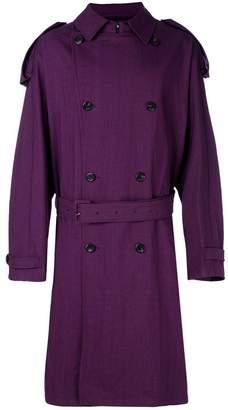 Raf Simons oversized trench coat