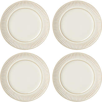 Dansk Flamestone Ivory Dinner Plates, Set of 4