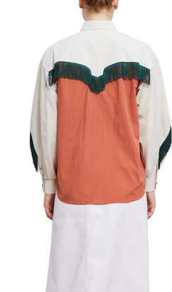 Toga Pulla Cotton Western Shirt