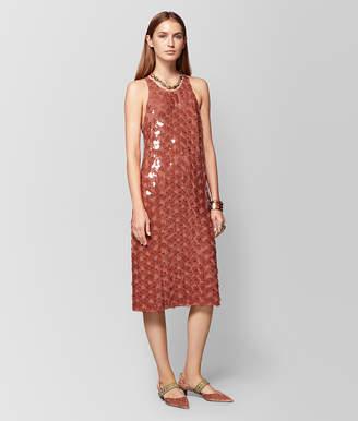 Bottega Veneta DARK HIBISCUS VISCOSE DRESS