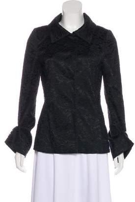 Dolce & Gabbana Lace Collared Jacket