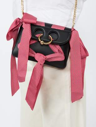J.W.Anderson Mini pierce ribbons crossbody bag