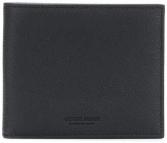 Giorgio Armani classic bifold wallet