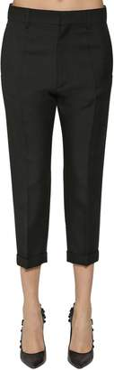 DSQUARED2 Heavy Wool Twill Cropped Pants