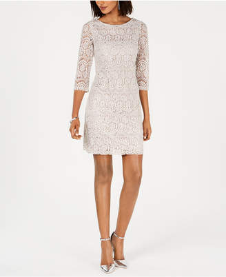 Jessica Howard Lace Shift Dress