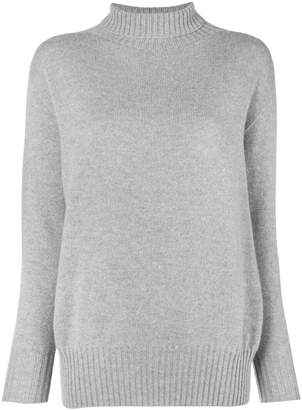 Max Mara 'S turtleneck fitted sweater