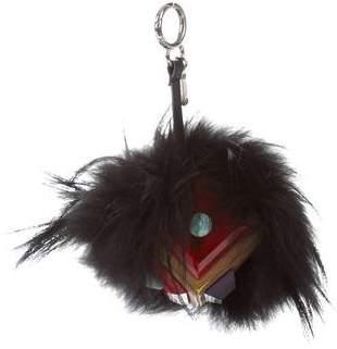 Fendi Occhi Prism Triangle Monster Bag Bug Charm