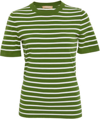 Michael Kors Striped Jersey T-Shirt