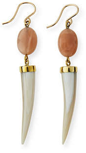 Ashley Pittman Penzi Spike Drop Earrings